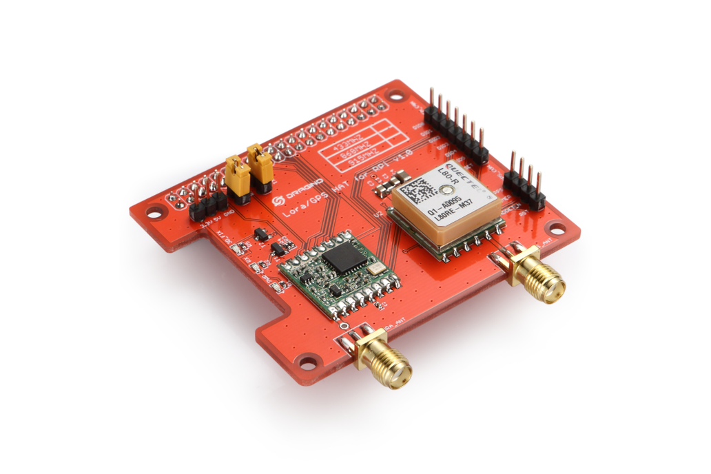 Raspberry Pi HAT featuring GPS and LoRa® technolog 1