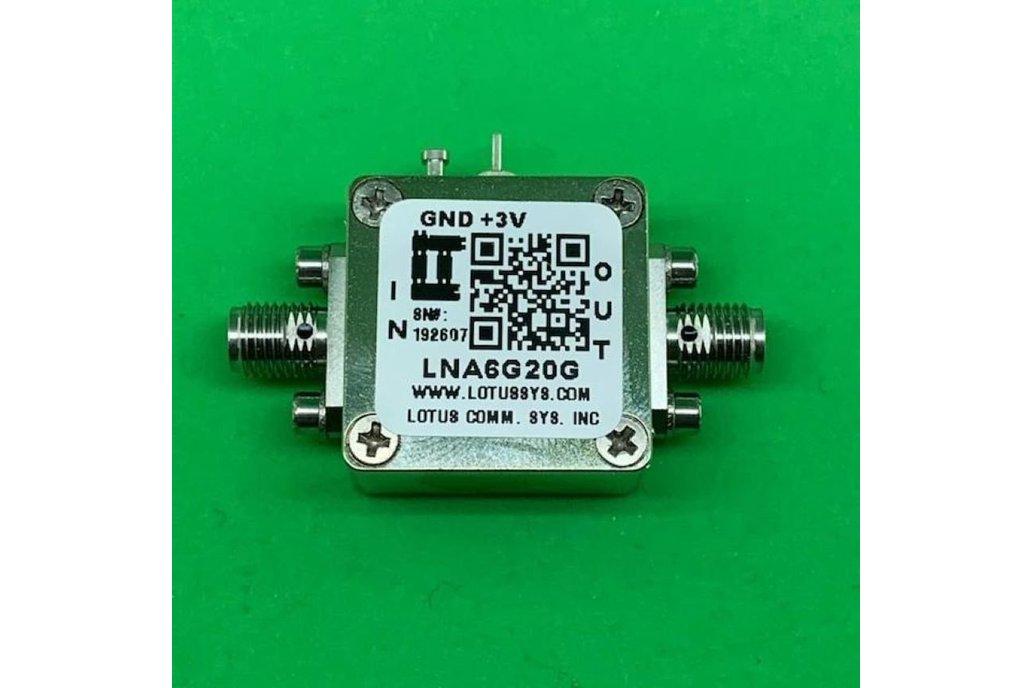 Amplifier LNA 2.5dB NF 6GHz to 20GHz 1