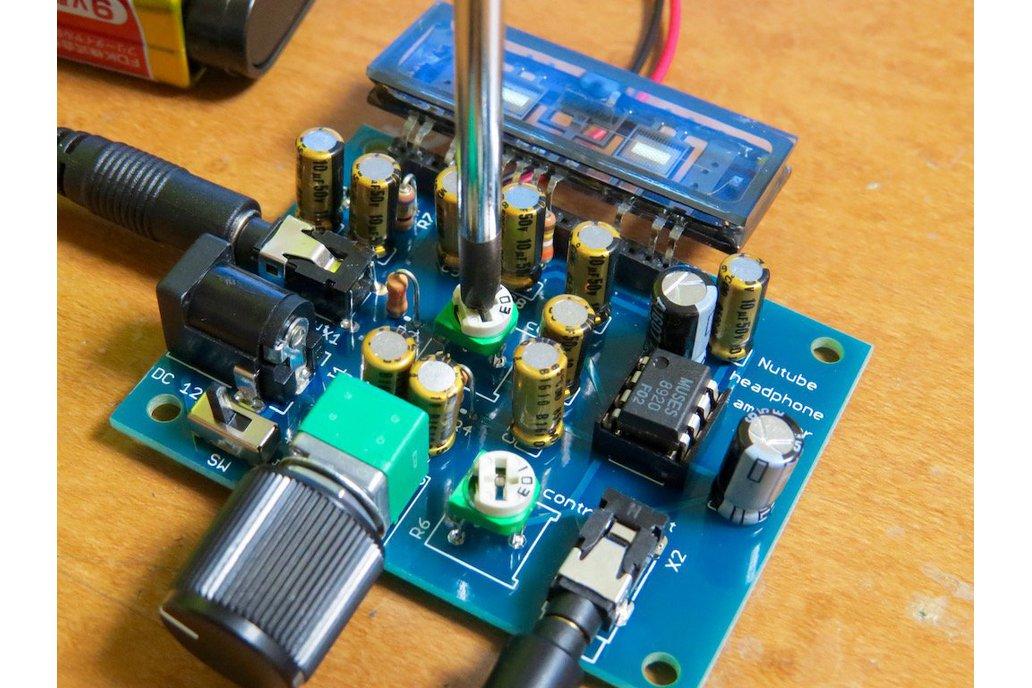 Nutube amp kit, a vacuum tube in new century REV2 5