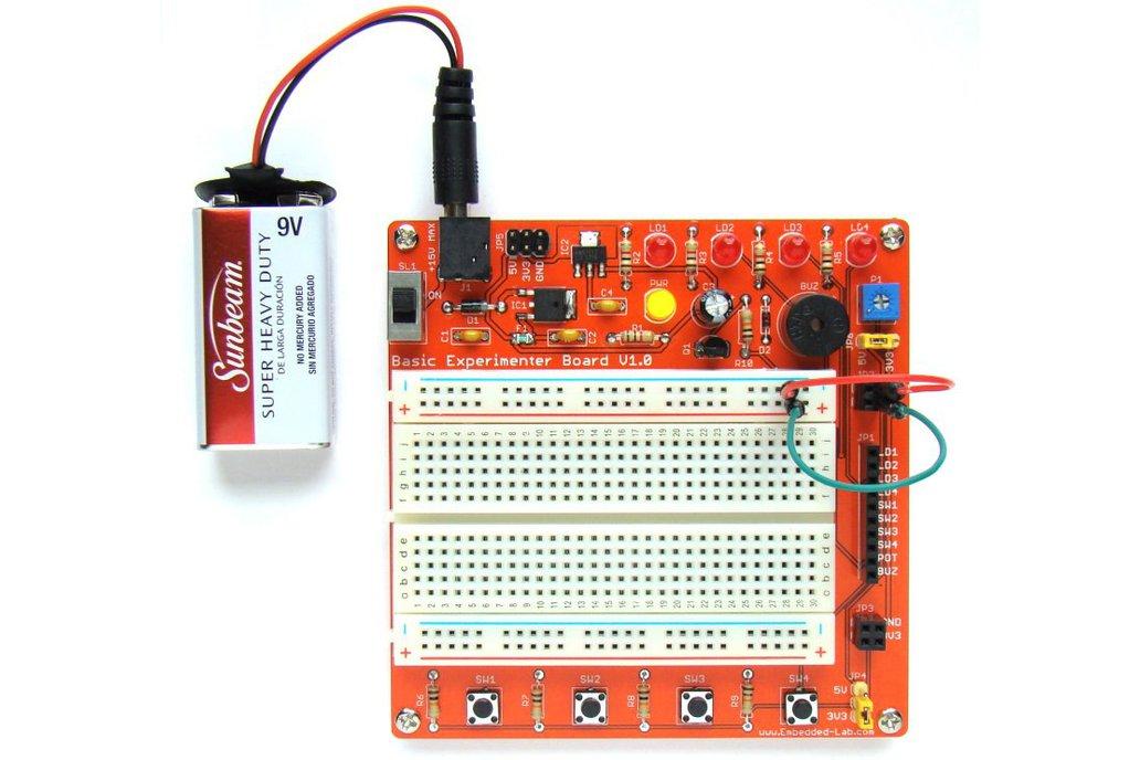 General purpose experimenter board for beginners 4