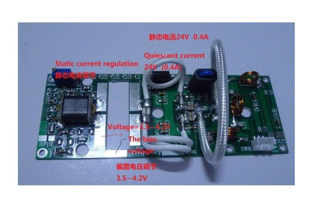 100W FM VHF 80Mhz to 180Mhz RF Power Amplifier 5