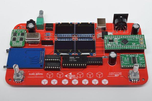 DAFM synth - ARCADE YM2151 - DIY kit