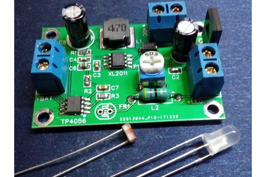 Beyond garden lights SCLD4056 charger+joule thief