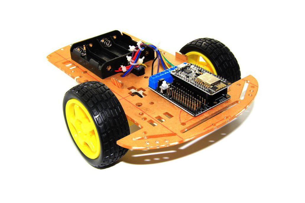 2WD L293D WiFi RC Smart Car with NodeMCU 6