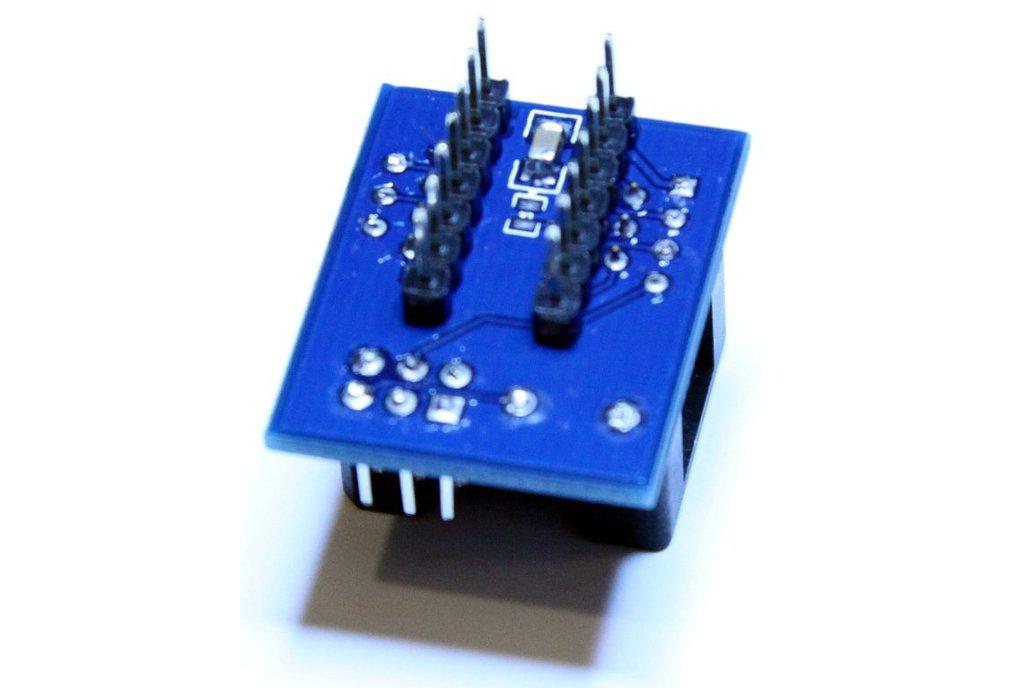 ATtiny 14pin SOIC-to-PDIP adapter 4