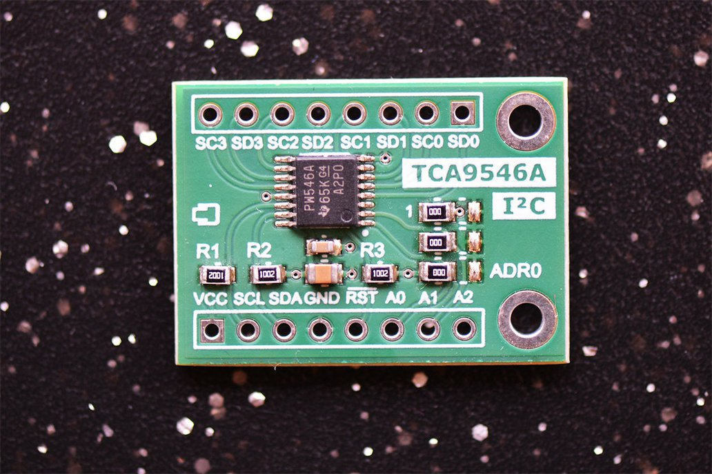 TCA9546A 4-Channel I2C Multiplexer With Reset