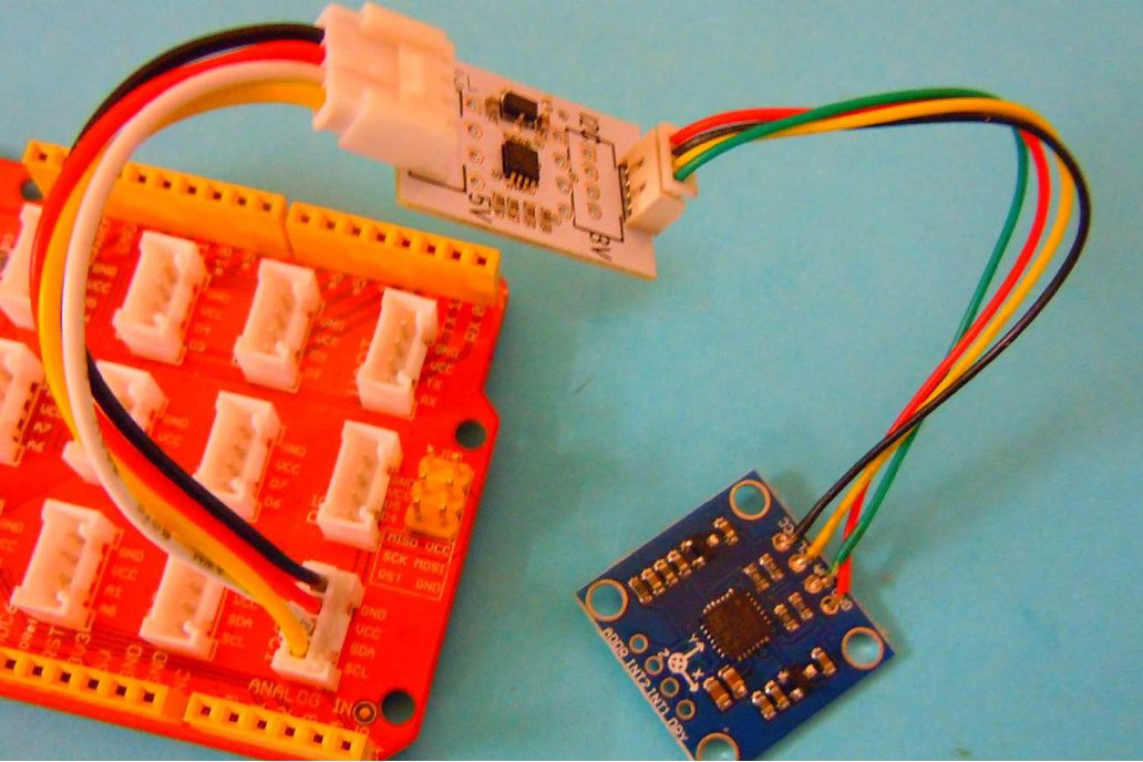 AdaI2C    Simple I2C 3/5V adapter 3