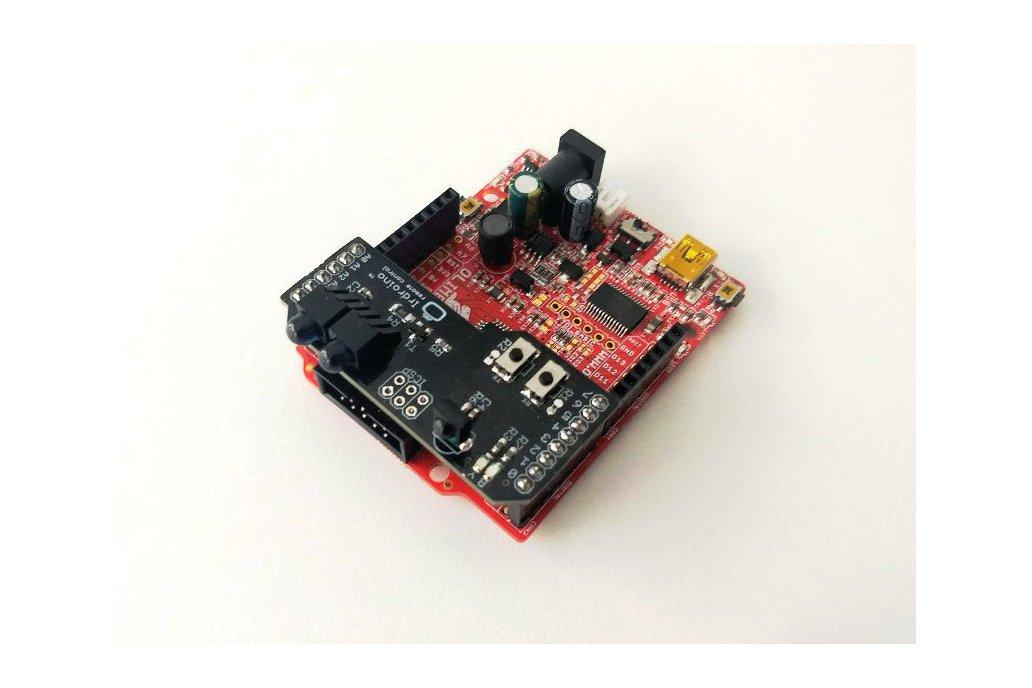 Irdroino Infrared (IR) Shield for Arduino 3