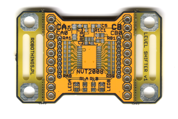 RT-NVT2008: Voltage level shifter - PCB/KIT