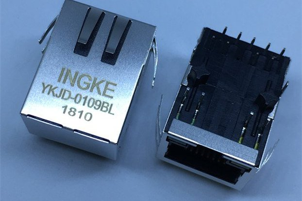 7499211122A YKJD-0109BL RJ45 Magnetic Modular Jack