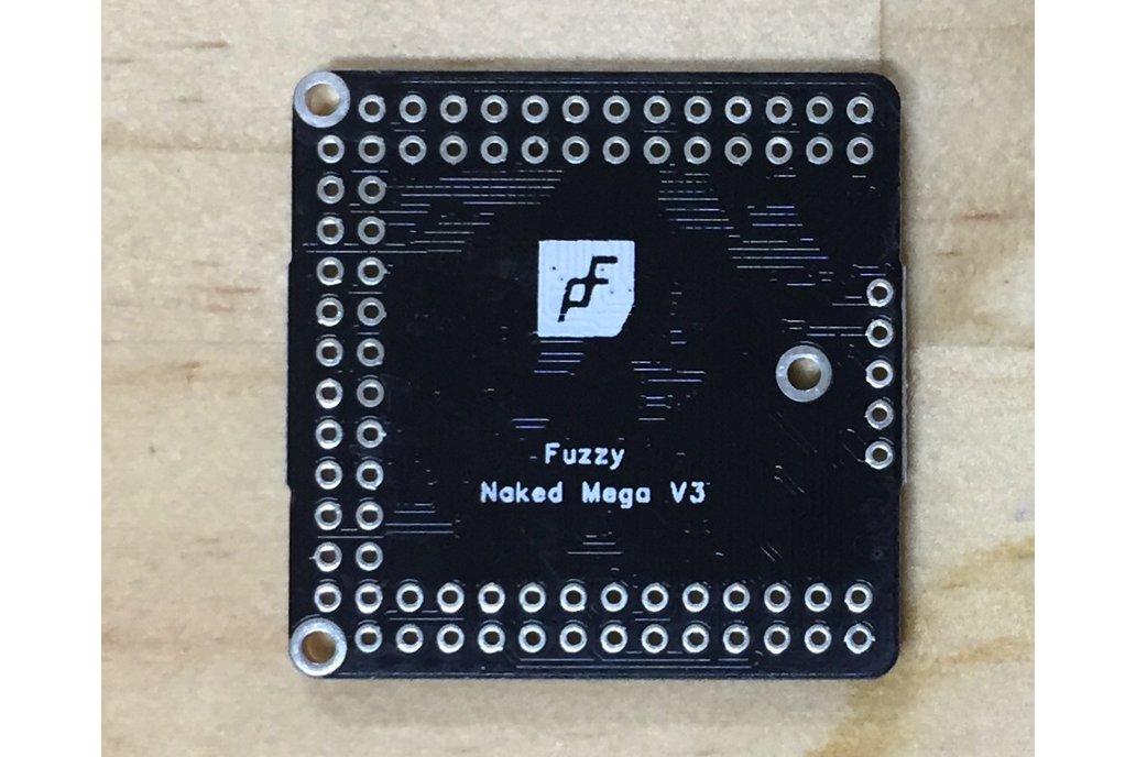 Naked Mega, an Arduino Mega 2560 compatible board 2