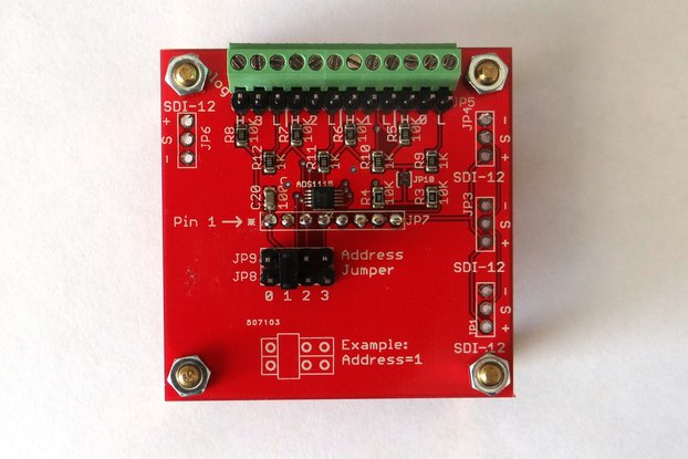 Hi-resolution analog input extension board