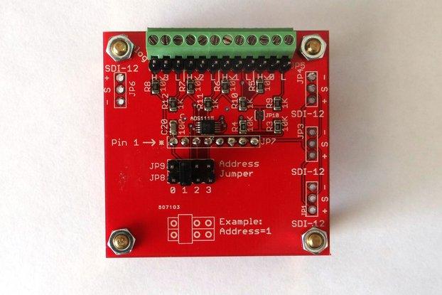 Hi-resolution analog input extension board