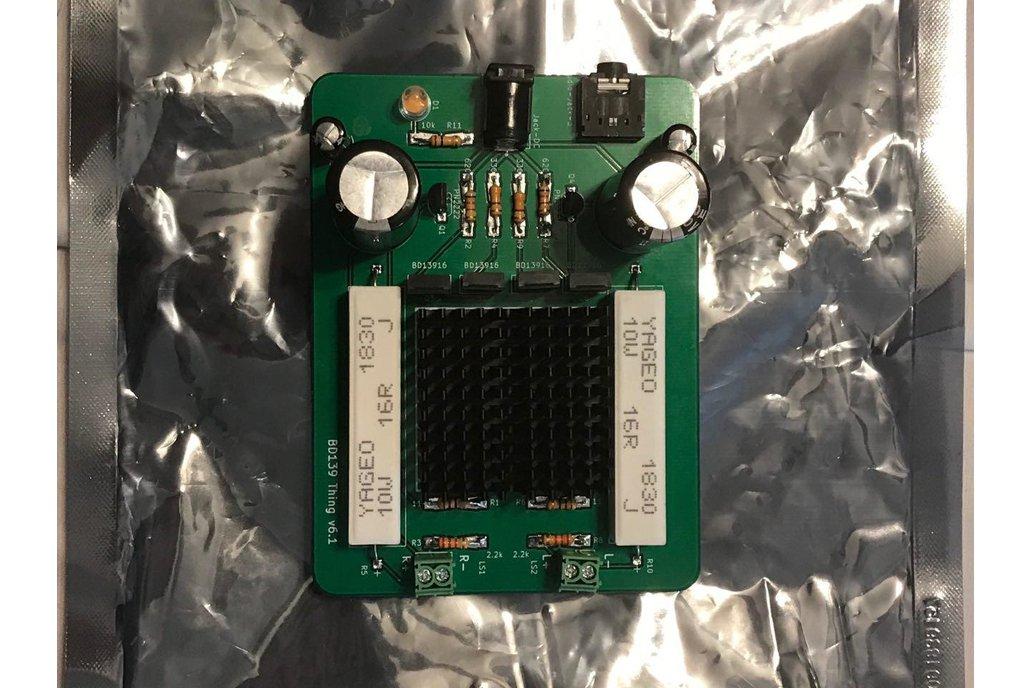 BD139 Thing v6.1 - 1.5W Stereo Amp 1