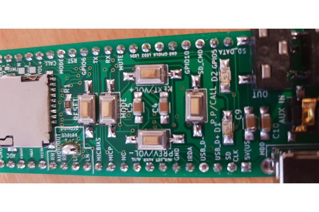 Assembled advanced breadboard adapter for BK3245 7