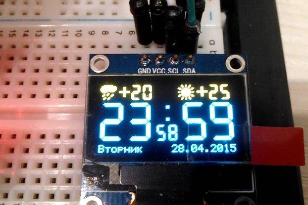ESP8266 OLED breakout board