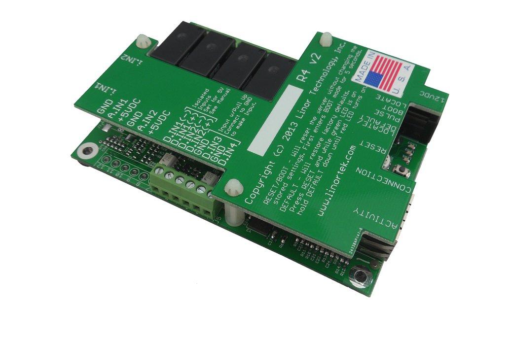 FARGO G2R4DI TCP/IP Web Relay Ethernet I/O POE 6