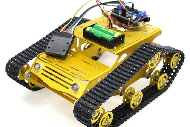 Y100 Joystick Control Smart Robot Tank Chassis