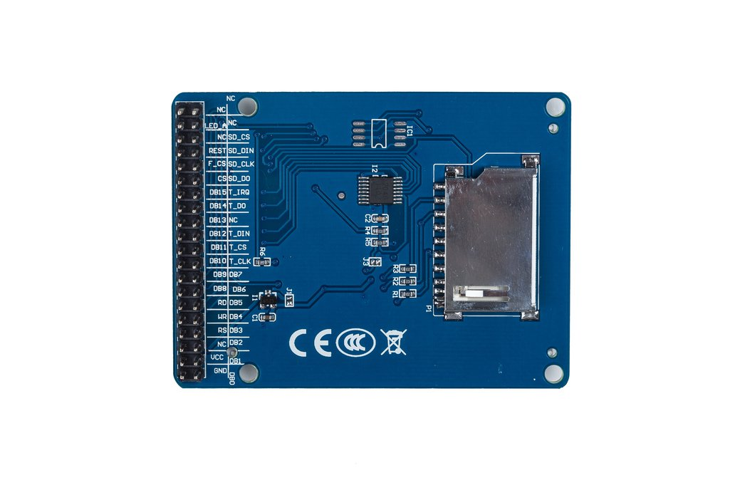 """2.4"""" TFT LCD Touch 2"""