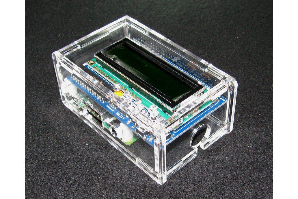 Raspberry Pi A+/B+ Adafruit LCD Case 1