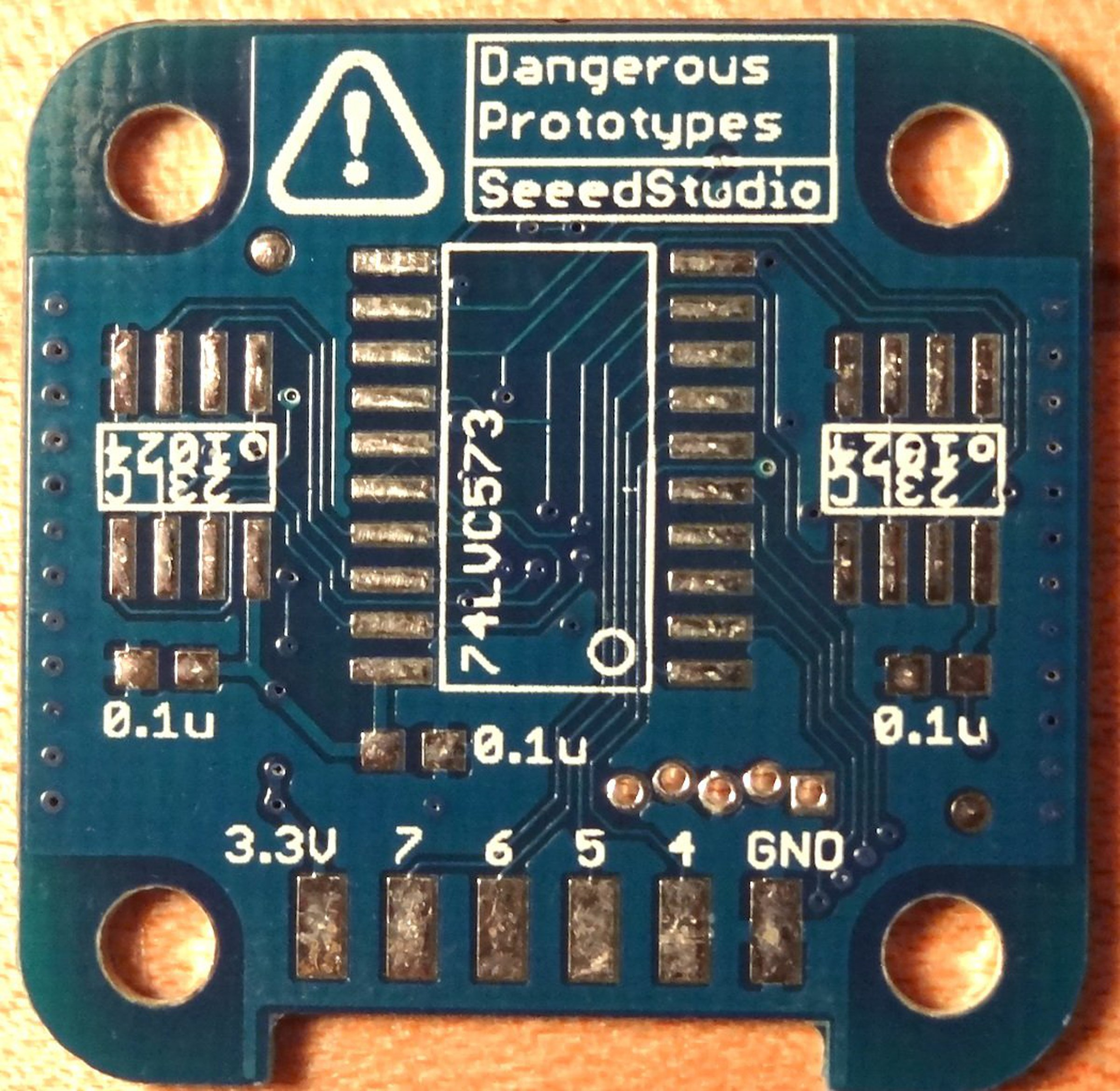 Logic Pirate Dangerous Prototypes Pcb Only From Tomkeddie On Tindie Circuit Board Maker Buy Printed Makerpcb 1