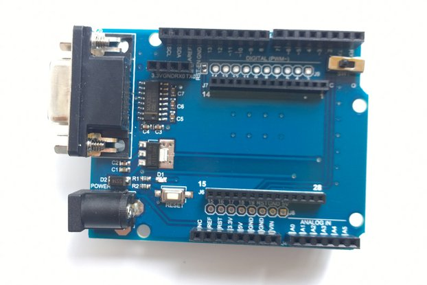 Arduino Shield Board 3 in 1 Bluetooth Zigbee WIFI