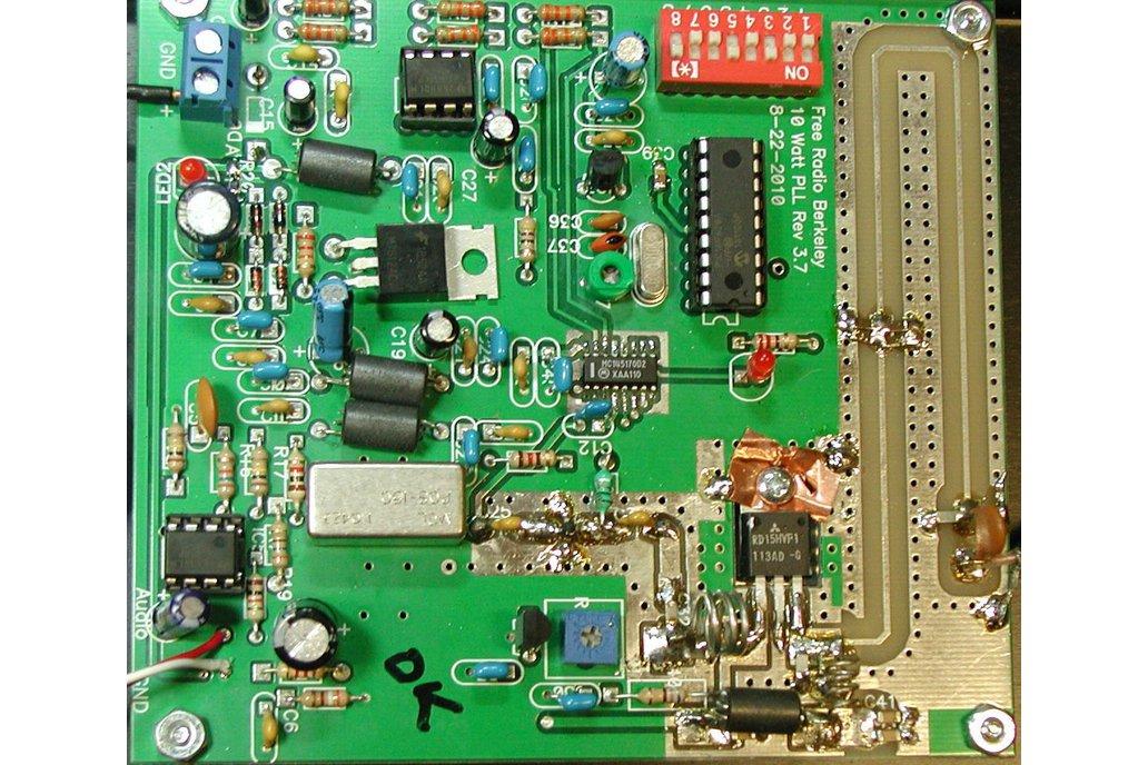 10 Watt Mono FM Broadcast Transmitter/Exciter 1