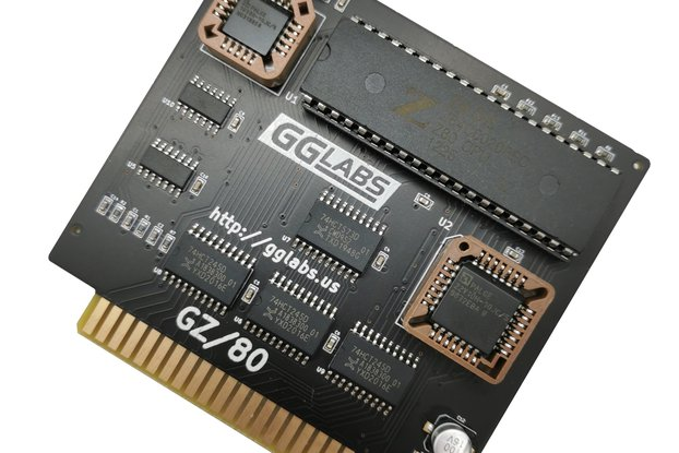 GZ/80 - Turbo CP/M Softcard Z80 for Apple IIe IIgs