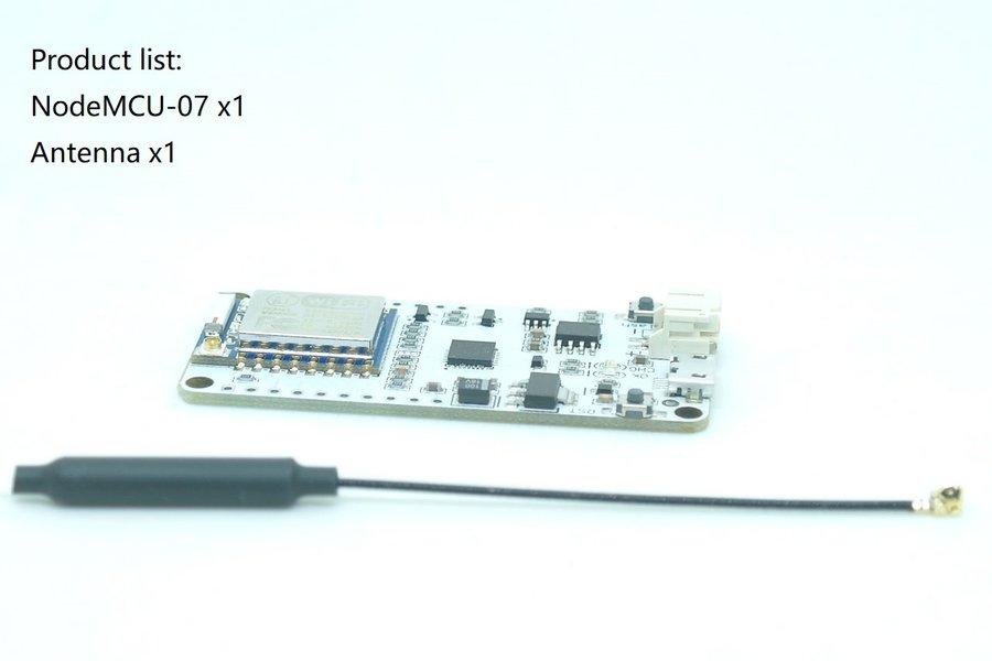 NodeMCU-07(WiFi deauther preflashed)