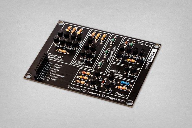 Discrete 555 Timer Kit