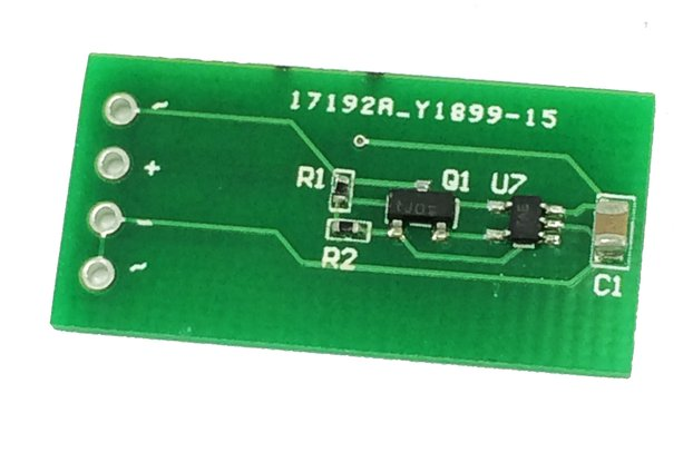 P-channel mosfet rectifier with TS1001 and BSH205