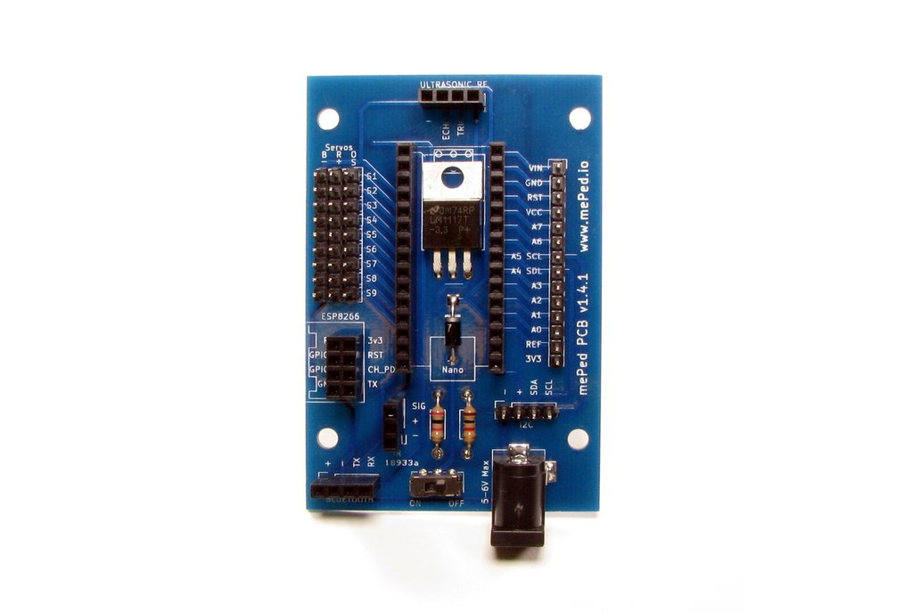 mePed Quadruped Robot PCB  2