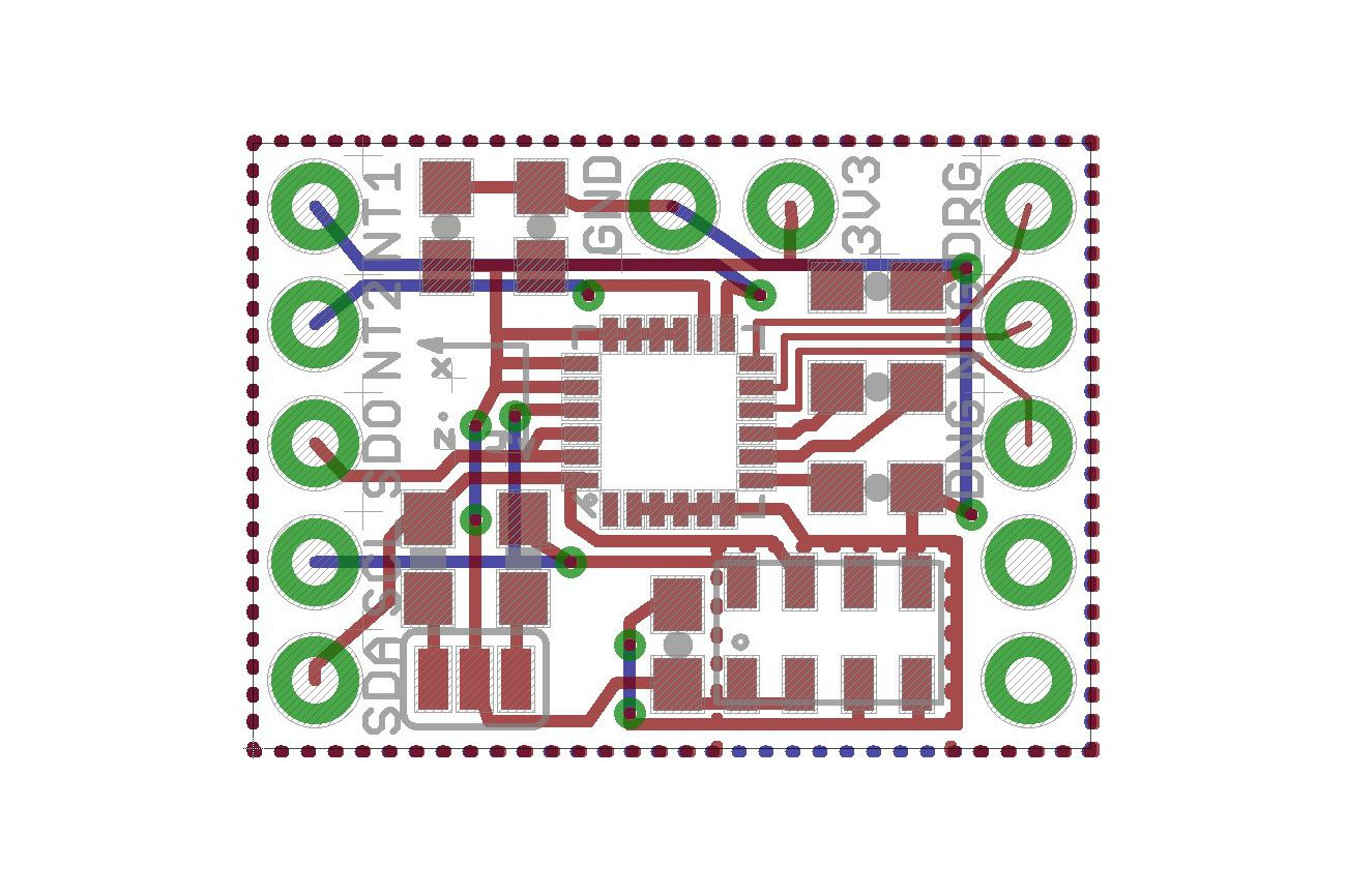 LSM9DS0 + MS5611 Teensy 3.1 Mini Shield