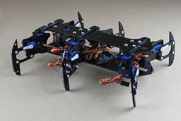 Acrylic Spider Hexapod Robot Kit