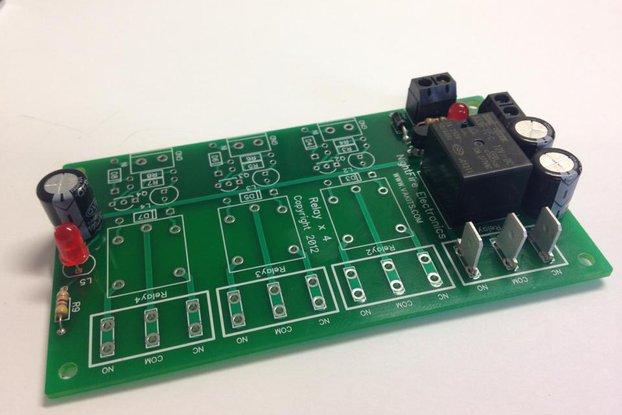 1 Relay, 9v, I/O Module Kit (#5564-1)