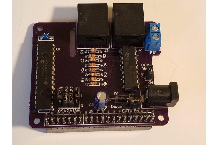 PiRyte Mini 8 In 8 Out Digital I/O Port