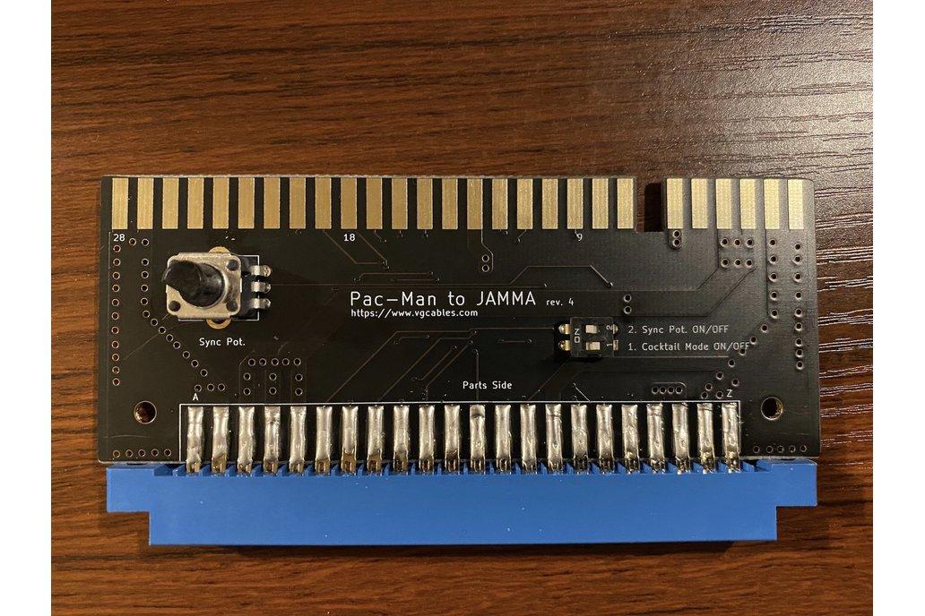 Pac-Man JAMMA Adapter Board 1