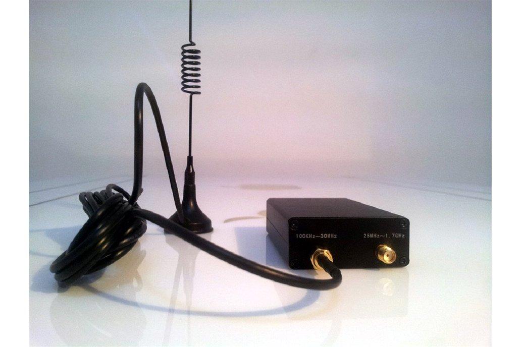 USB Tuner Receiver 100KHz-1.7GHz Full Band UV HF 1