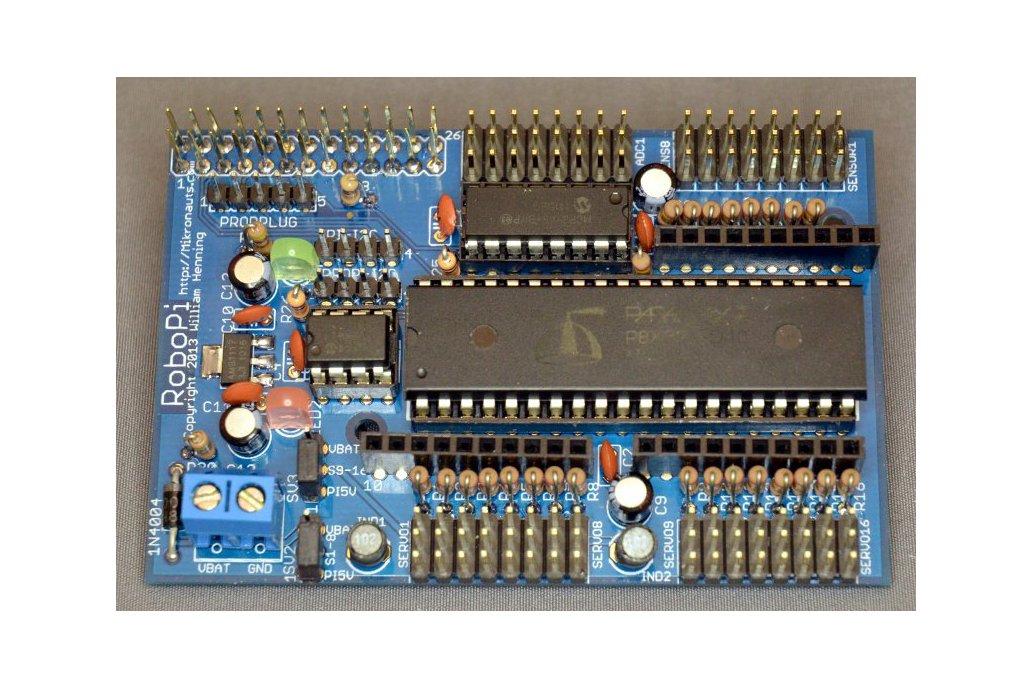 RoboPi Advanced Robot Controller KIT Raspberry Pi 1
