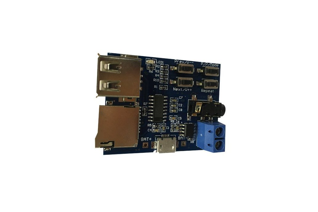 mp3 Lossless decode board module with  amplifi 1