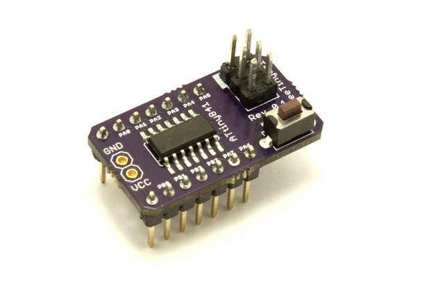 ATtiny841 development board