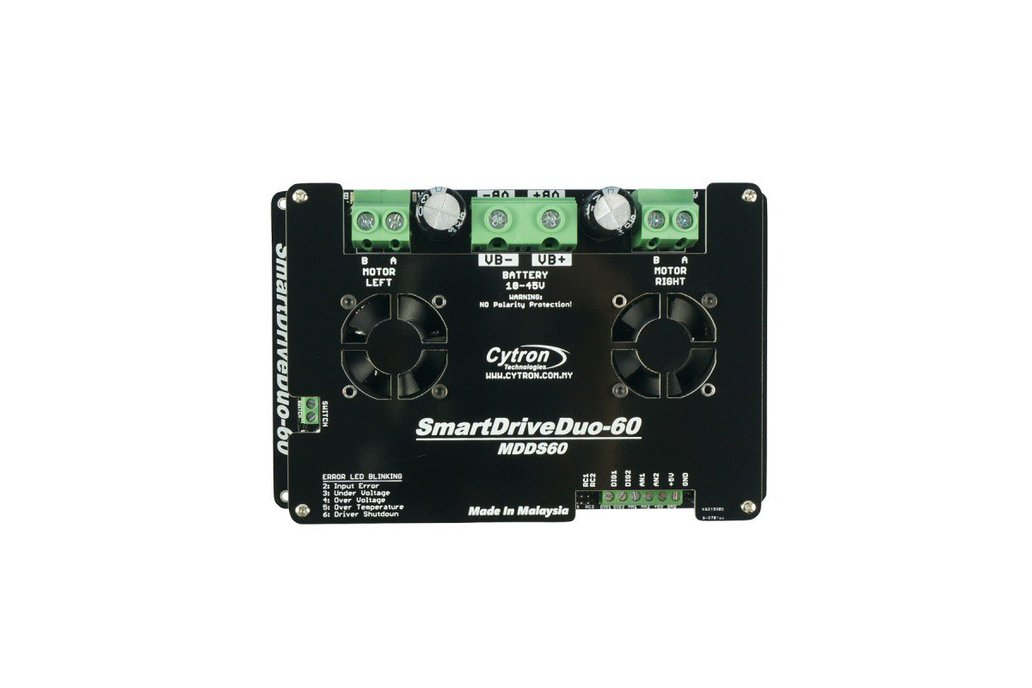 Smart Dual 60A Motor Driver 2