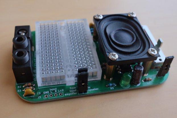 Experimenter's audio amplifier kit