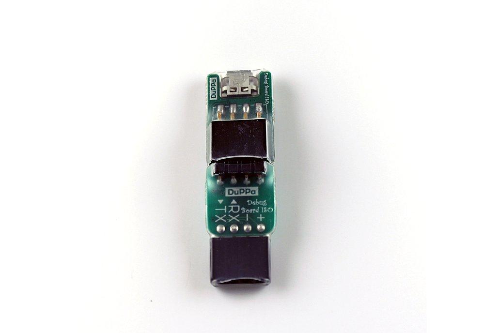 Debug Board USB to UART Isolated Splittable 4