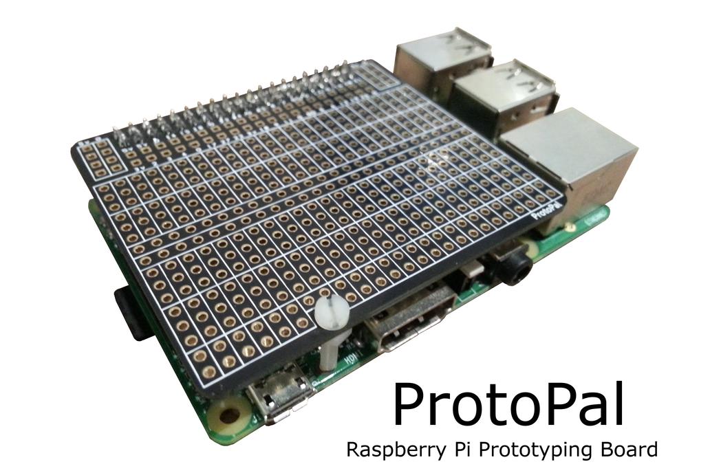 ProtoPal Raspberry Pi A+ B+ Prototyping Board 1