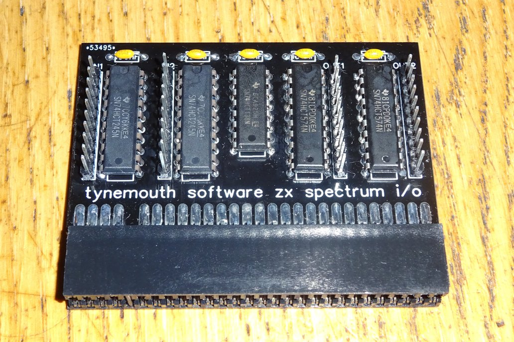ZX Spectrum IO Board 1