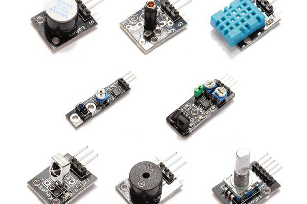 Sensor board set for Arduino