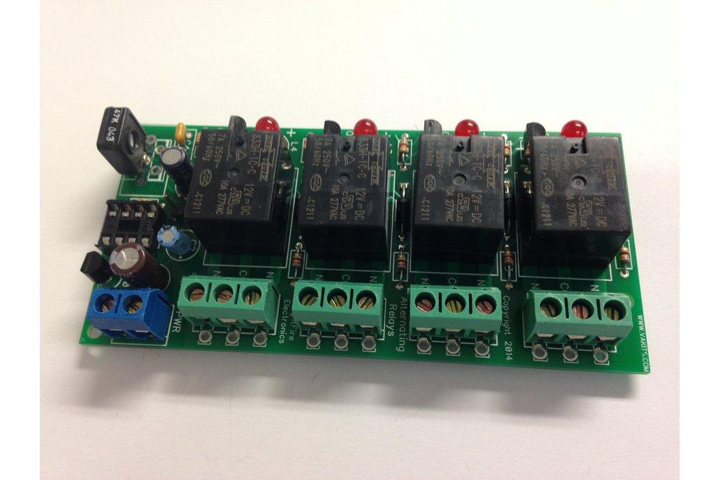 Adjustable Alternating 4 Relays Kit, 18v (#5474) 1