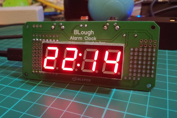 BLough Alarm Clock - Shield for Wemos D1 Mini