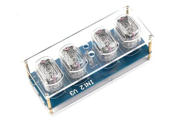 IN12 Nixie Tube Digital LED Clock DIY Kit